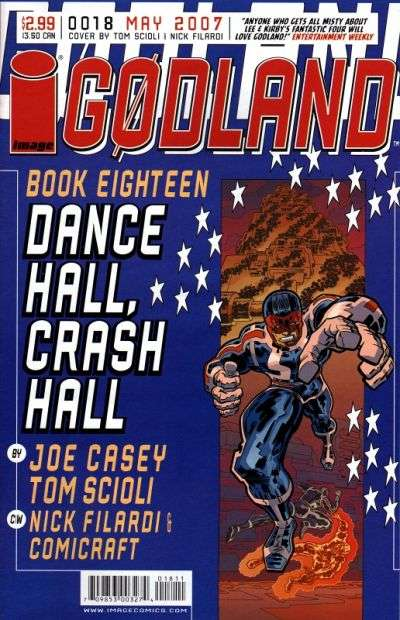 Godland #18 comic books for sale