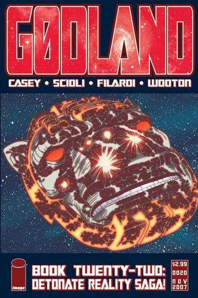 Godland #22 comic books for sale
