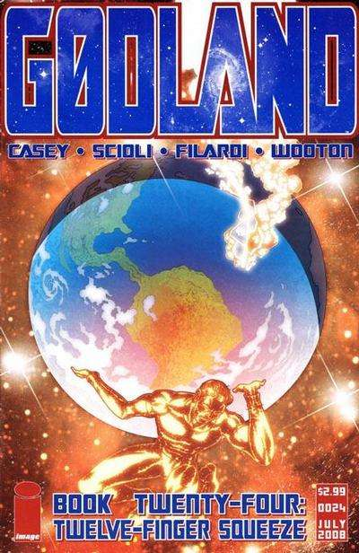 Godland #24 comic books for sale