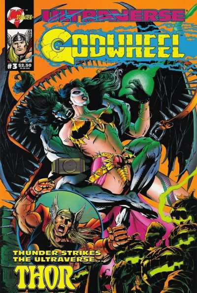 Godwheel #3 Comic Books - Covers, Scans, Photos  in Godwheel Comic Books - Covers, Scans, Gallery