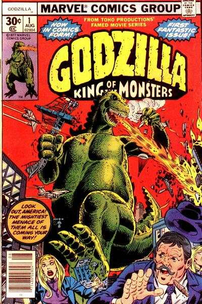 Godzilla #1 Comic Books - Covers, Scans, Photos  in Godzilla Comic Books - Covers, Scans, Gallery
