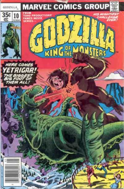 Godzilla #10 comic books - cover scans photos Godzilla #10 comic books - covers, picture gallery