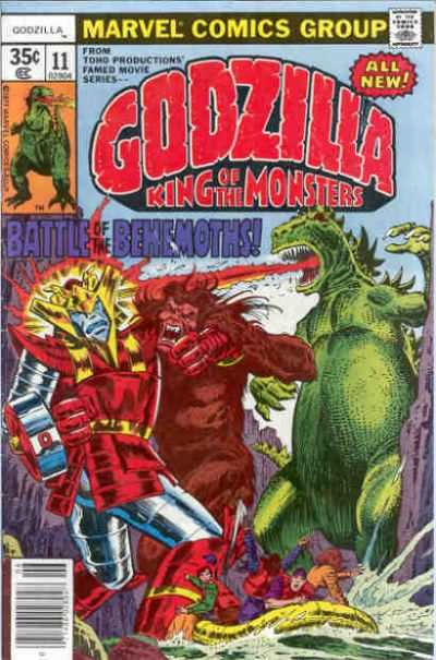 Godzilla #11 comic books - cover scans photos Godzilla #11 comic books - covers, picture gallery