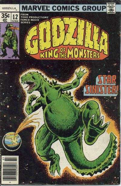 Godzilla #12 comic books - cover scans photos Godzilla #12 comic books - covers, picture gallery