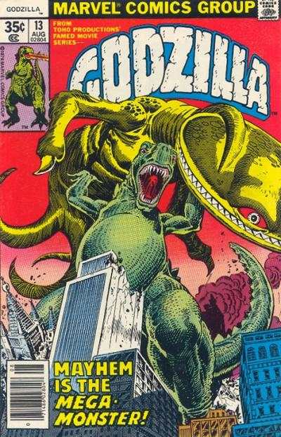 Godzilla #13 Comic Books - Covers, Scans, Photos  in Godzilla Comic Books - Covers, Scans, Gallery