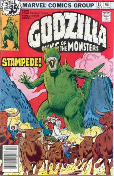 Godzilla #15 comic books - cover scans photos Godzilla #15 comic books - covers, picture gallery
