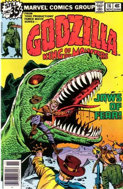 Godzilla #16 Comic Books - Covers, Scans, Photos  in Godzilla Comic Books - Covers, Scans, Gallery