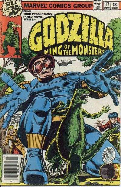 Godzilla #17 comic books - cover scans photos Godzilla #17 comic books - covers, picture gallery