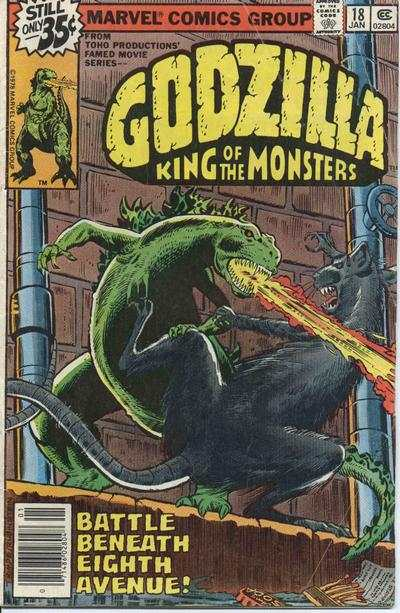 Godzilla #18 comic books - cover scans photos Godzilla #18 comic books - covers, picture gallery