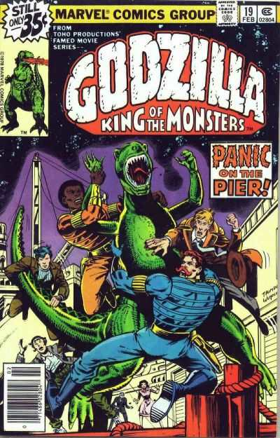 Godzilla #19 comic books - cover scans photos Godzilla #19 comic books - covers, picture gallery