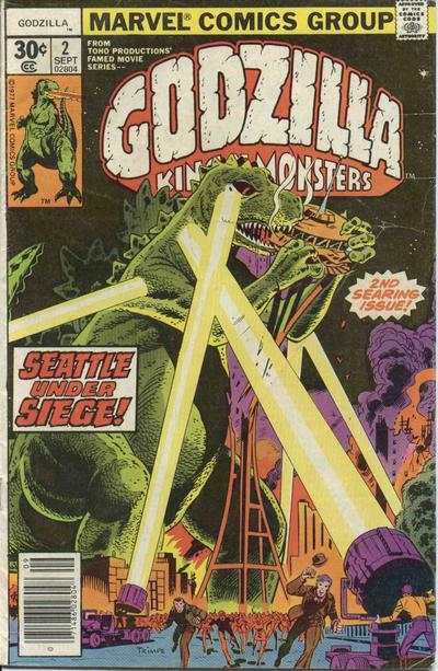 Godzilla #2 comic books - cover scans photos Godzilla #2 comic books - covers, picture gallery