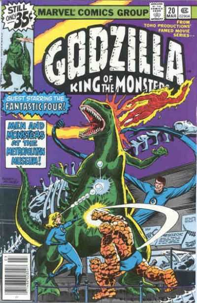 Godzilla #20 Comic Books - Covers, Scans, Photos  in Godzilla Comic Books - Covers, Scans, Gallery