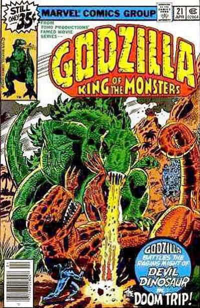 Godzilla #21 comic books - cover scans photos Godzilla #21 comic books - covers, picture gallery
