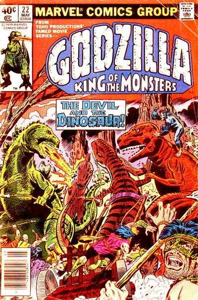 Godzilla #22 comic books for sale