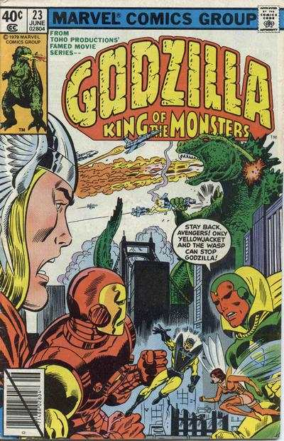 Godzilla #23 Comic Books - Covers, Scans, Photos  in Godzilla Comic Books - Covers, Scans, Gallery