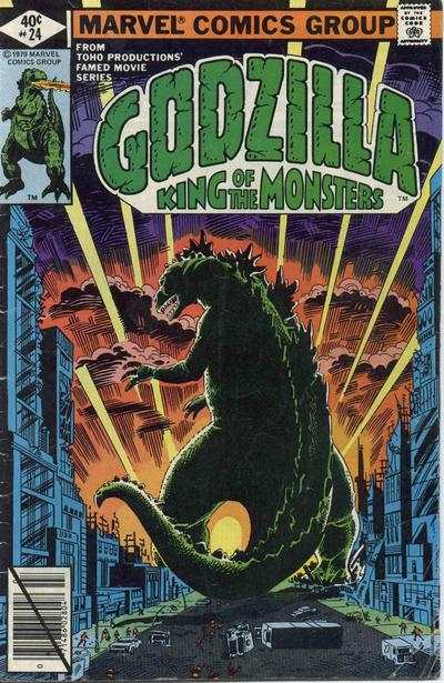 Godzilla #24 comic books for sale