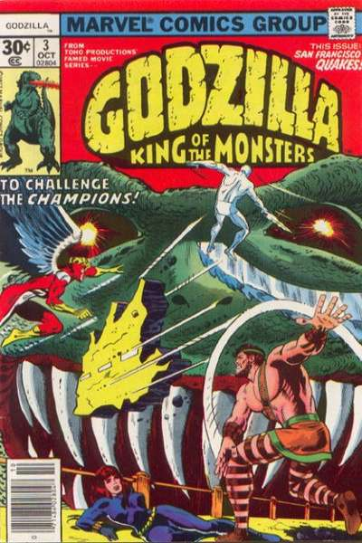 Godzilla #3 comic books - cover scans photos Godzilla #3 comic books - covers, picture gallery