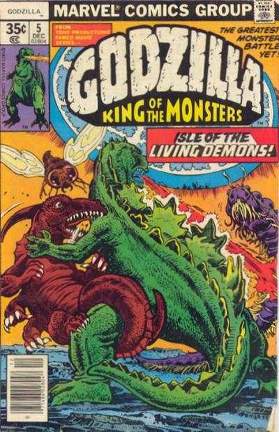Godzilla #5 comic books - cover scans photos Godzilla #5 comic books - covers, picture gallery