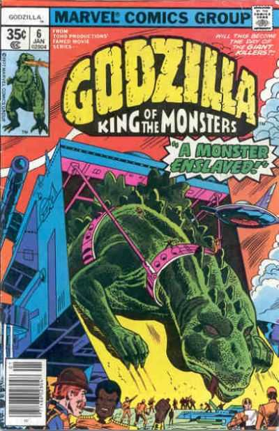 Godzilla #6 Comic Books - Covers, Scans, Photos  in Godzilla Comic Books - Covers, Scans, Gallery