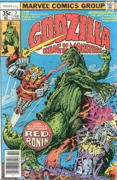 Godzilla #7 comic books - cover scans photos Godzilla #7 comic books - covers, picture gallery