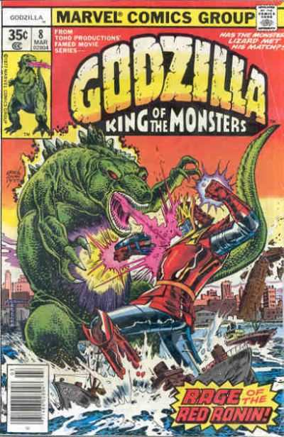 Godzilla #8 comic books - cover scans photos Godzilla #8 comic books - covers, picture gallery
