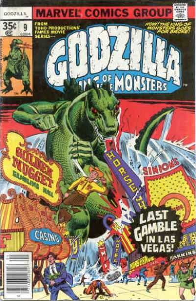 Godzilla #9 comic books for sale