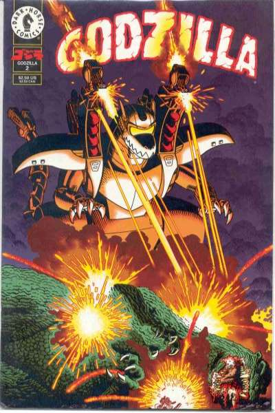 Godzilla #2 Comic Books - Covers, Scans, Photos  in Godzilla Comic Books - Covers, Scans, Gallery