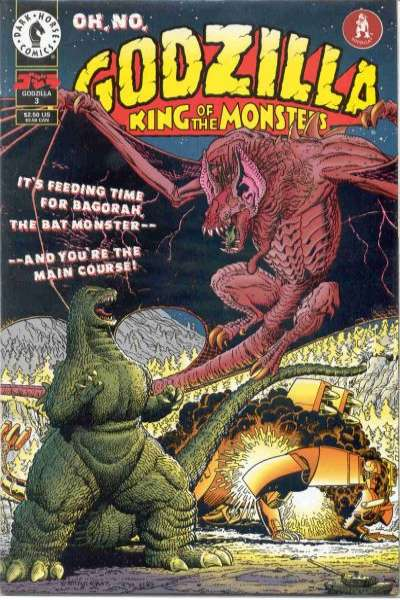Godzilla #3 Comic Books - Covers, Scans, Photos  in Godzilla Comic Books - Covers, Scans, Gallery