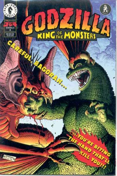 Godzilla #4 comic books for sale