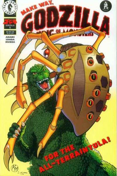 Godzilla #5 Comic Books - Covers, Scans, Photos  in Godzilla Comic Books - Covers, Scans, Gallery
