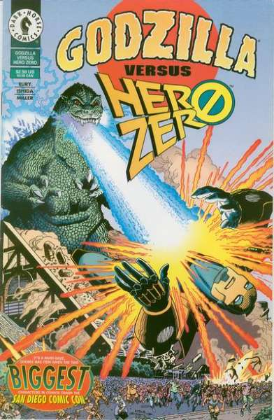 Godzilla vs. Hero Zero #1 comic books - cover scans photos Godzilla vs. Hero Zero #1 comic books - covers, picture gallery