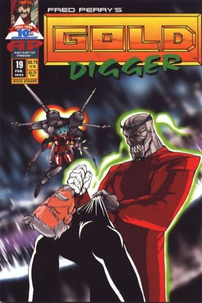 Gold Digger #19 comic books for sale