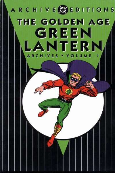 Golden Age Green Lantern Archives - Hardcover Comic Books. Golden Age Green Lantern Archives - Hardcover Comics.