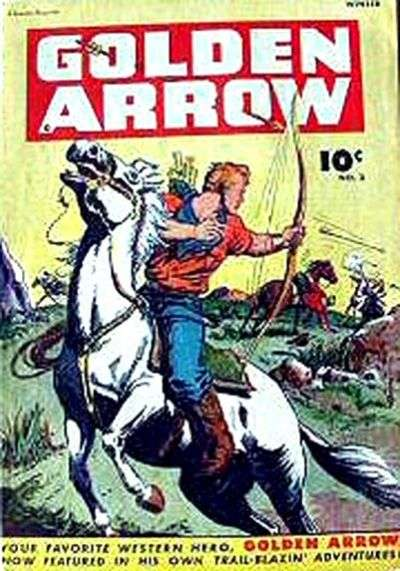 Golden Arrow #3 comic books for sale