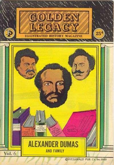 1969 Golden Legacy Illustrated History Magazine Douglass,Dumas,Henson Sold indiv