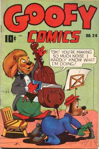 Goofy Comics #24 Comic Books - Covers, Scans, Photos  in Goofy Comics Comic Books - Covers, Scans, Gallery
