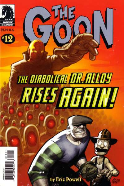 Goon #12 Comic Books - Covers, Scans, Photos  in Goon Comic Books - Covers, Scans, Gallery