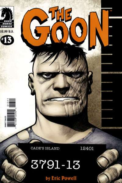 Goon #13 comic books - cover scans photos Goon #13 comic books - covers, picture gallery