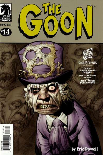 Goon #14 Comic Books - Covers, Scans, Photos  in Goon Comic Books - Covers, Scans, Gallery
