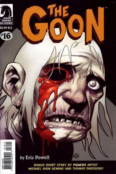 Goon #16 Comic Books - Covers, Scans, Photos  in Goon Comic Books - Covers, Scans, Gallery