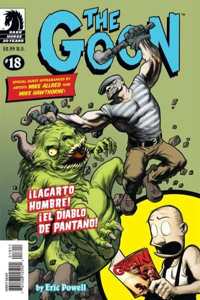 Goon #18 Comic Books - Covers, Scans, Photos  in Goon Comic Books - Covers, Scans, Gallery