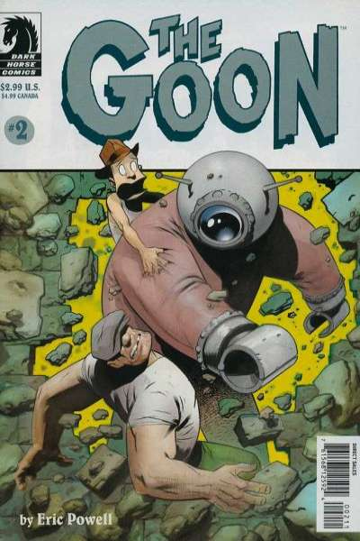 Goon #2 Comic Books - Covers, Scans, Photos  in Goon Comic Books - Covers, Scans, Gallery