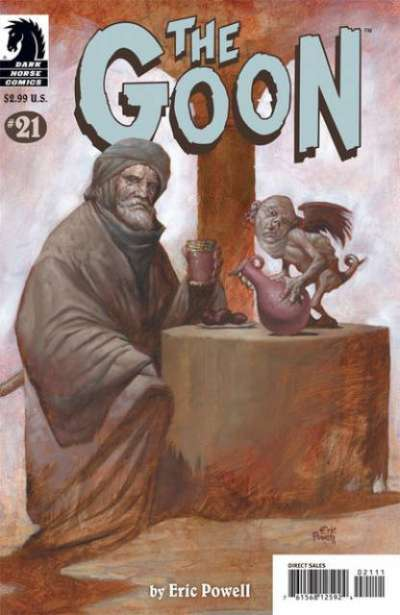 Goon #21 comic books for sale