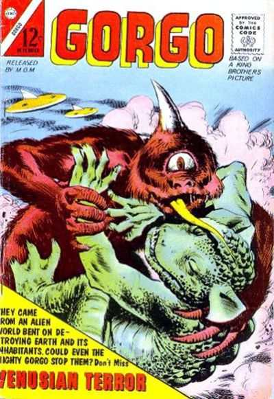 Gorgo #10 Comic Books - Covers, Scans, Photos  in Gorgo Comic Books - Covers, Scans, Gallery