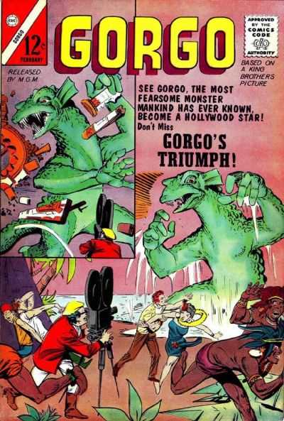 Gorgo #11 Comic Books - Covers, Scans, Photos  in Gorgo Comic Books - Covers, Scans, Gallery