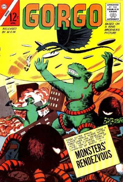 Gorgo #12 Comic Books - Covers, Scans, Photos  in Gorgo Comic Books - Covers, Scans, Gallery