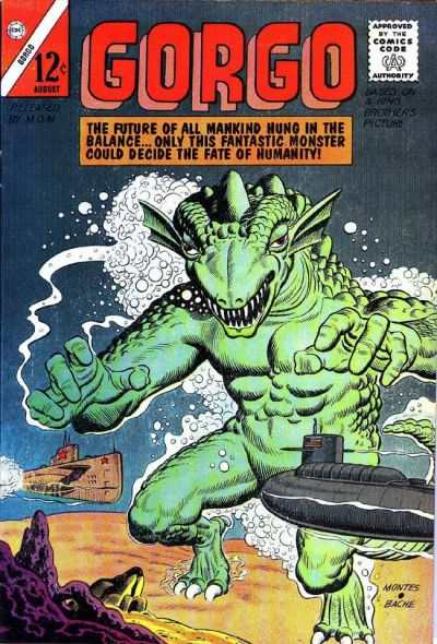 Gorgo #14 Comic Books - Covers, Scans, Photos  in Gorgo Comic Books - Covers, Scans, Gallery