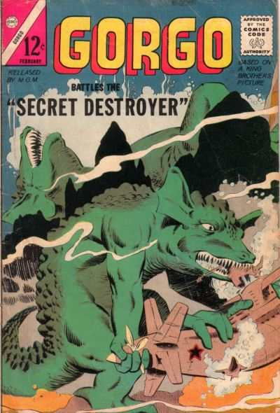 Gorgo #17 comic books - cover scans photos Gorgo #17 comic books - covers, picture gallery