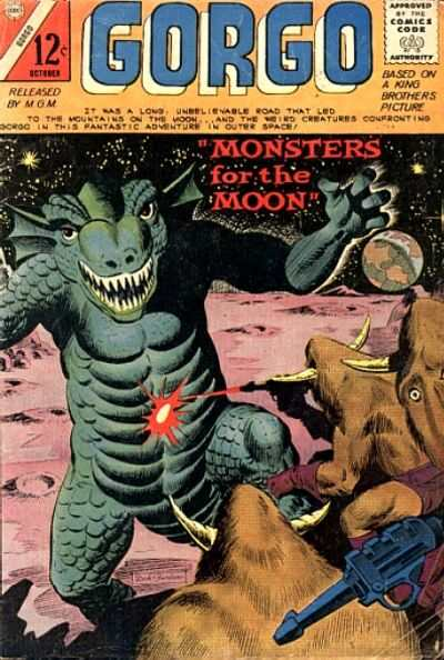 Gorgo #20 Comic Books - Covers, Scans, Photos  in Gorgo Comic Books - Covers, Scans, Gallery
