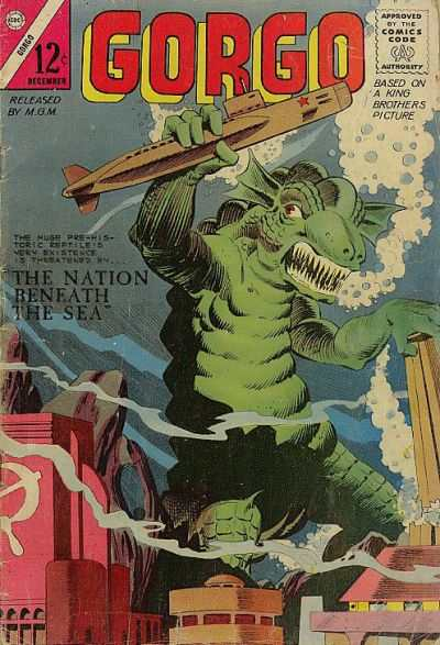 Gorgo #21 comic books for sale